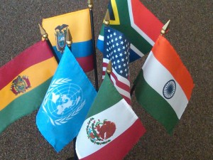 Flags of the CFHI Global Family now including the United Nations