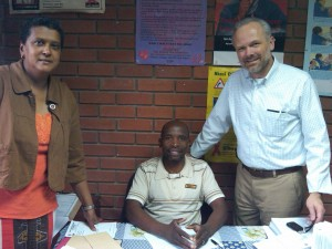 Avril Whate, Vusi Ngcobo, Steve Schmidbauer