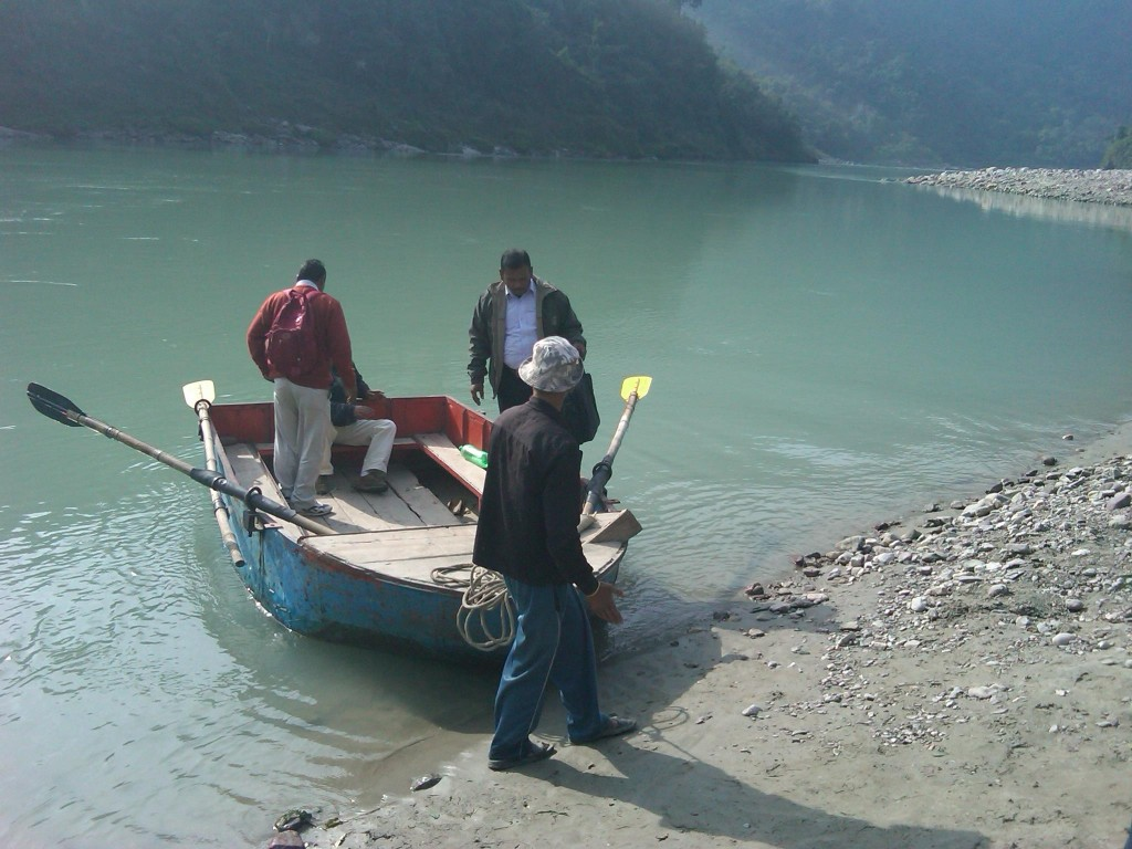 Crossing Ganges