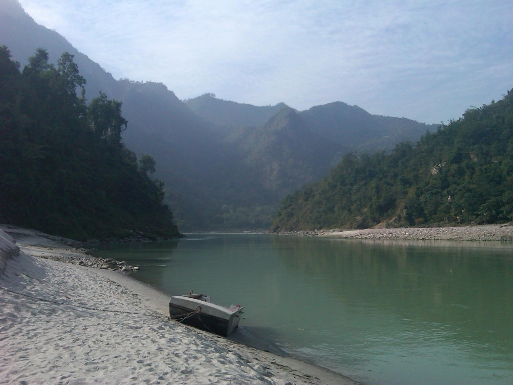 Ganges Crossingpoint at Gullar
