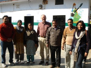 After meeting with local leaders of Sirasu to discuss health camps