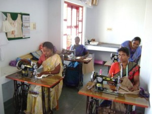 Sewing Class at Kovalam