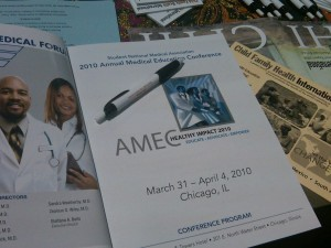 From the CFHI Table at the 2010 SNMA Annual Conference in Chicago
