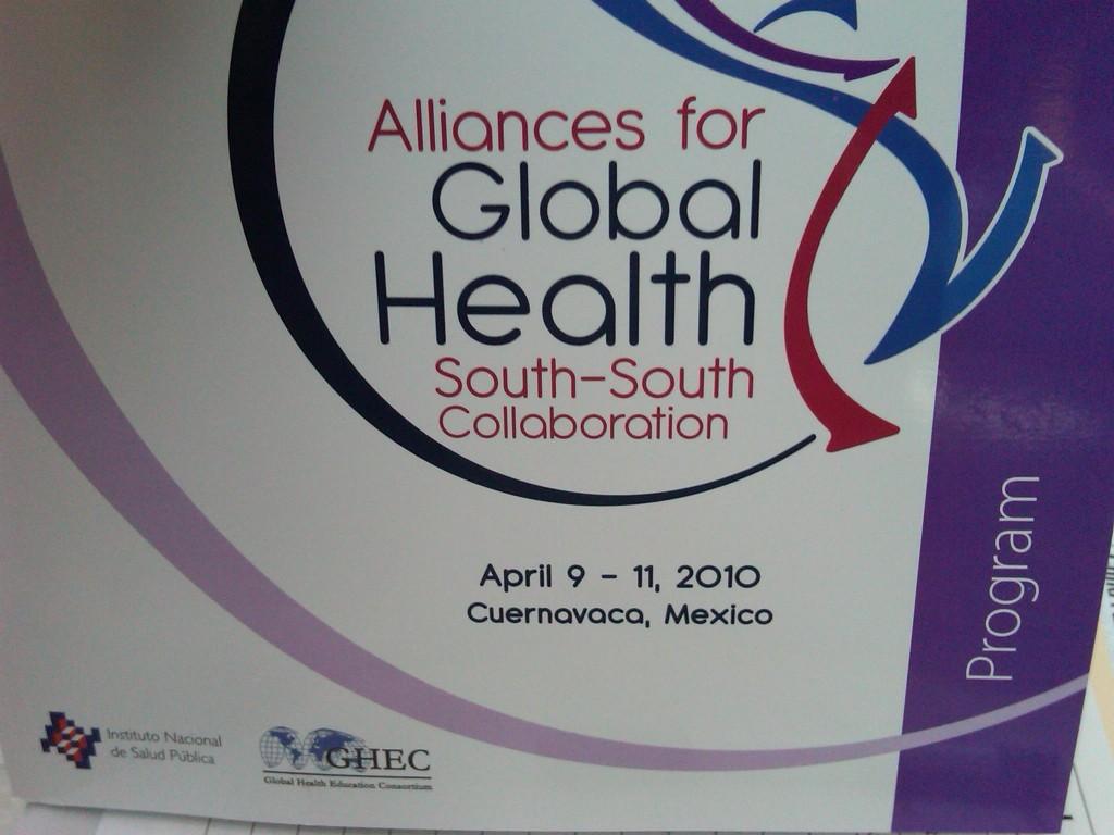GHEC - INSP Conference 2010 Cuerenavaca, Mexico