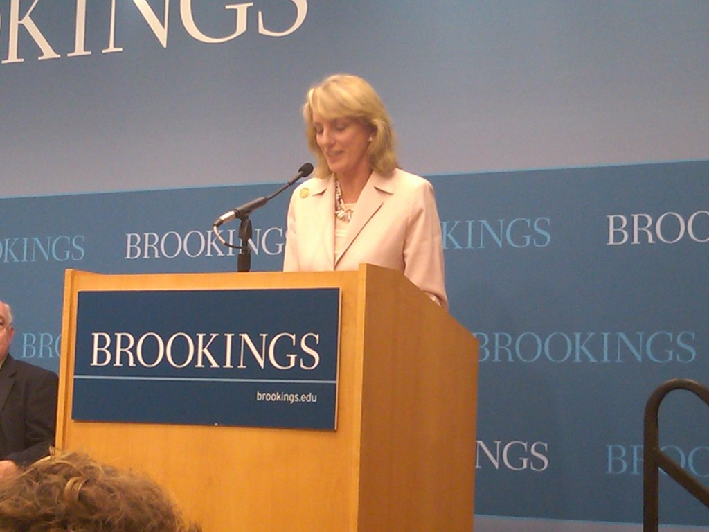 Ambassador Elizabeth Frawley Bagley at Brookings 23 June 2010