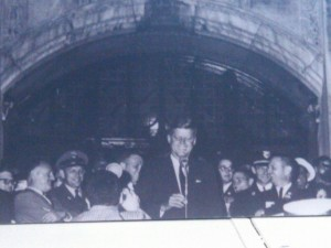 JFK at U of M October 14 1960