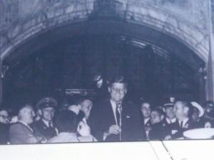 JFK at U of M October 14 1960