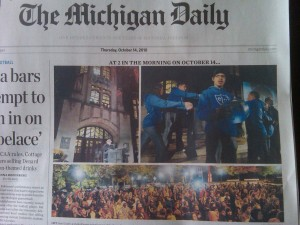 Michigan Daily October 14 2010