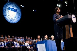 First Lady Howard University Jan 2011