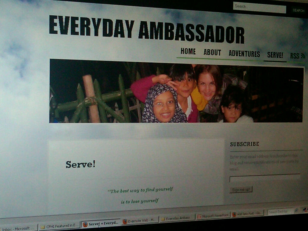 Everyday Ambassador Blog