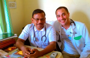 CFHI Student with Dr. Paul, Rural Urban Himalayan Rotation
