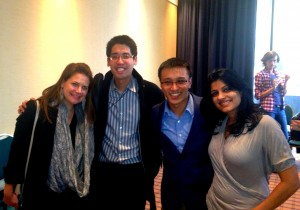 Dr. Jessica Evert, CFHI Executive Director & IFMSA Alumna, with other IFMSA Alumni